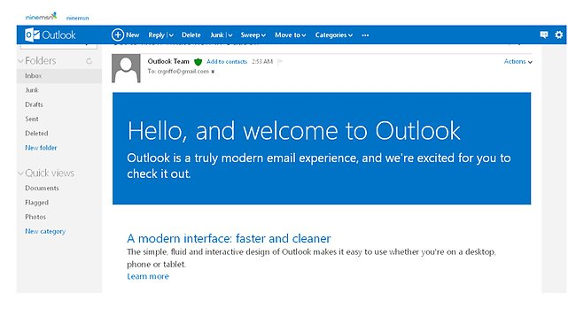 Introduction to Outlook.com