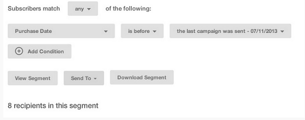 Segmenting email recipients