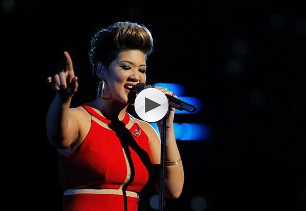 Tessanne Chin Singing on the Voice