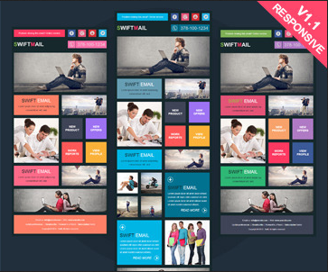 Top Responsive Templates For Your Budget Email On Acid - Custom mailchimp templates free