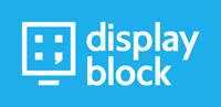 display block logo