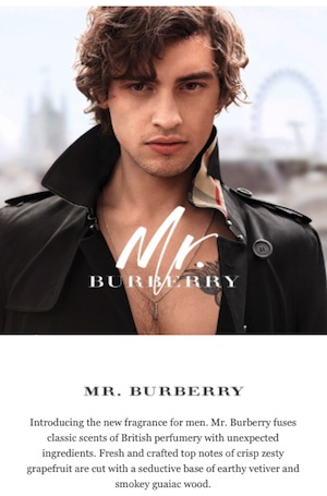 Burberry email