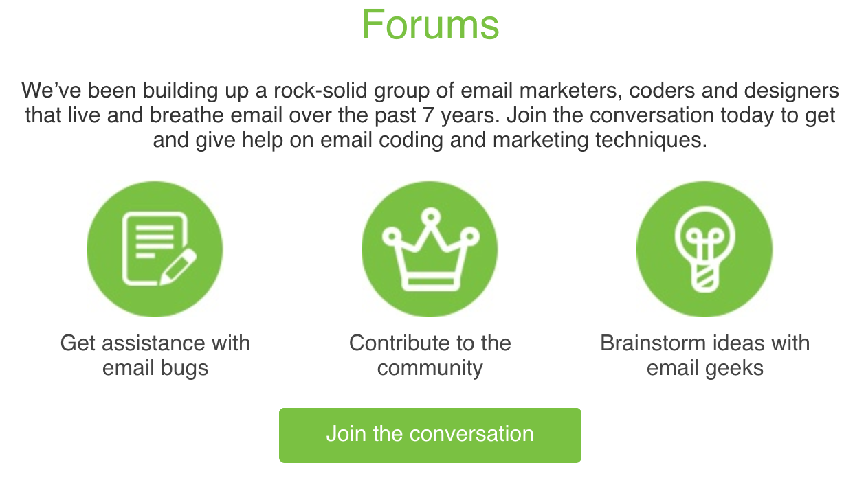 Forums static