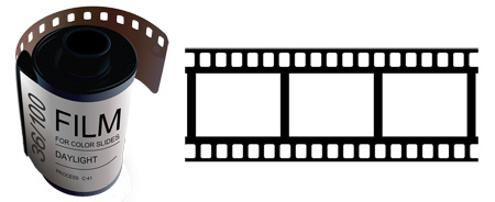 Film strip analogy