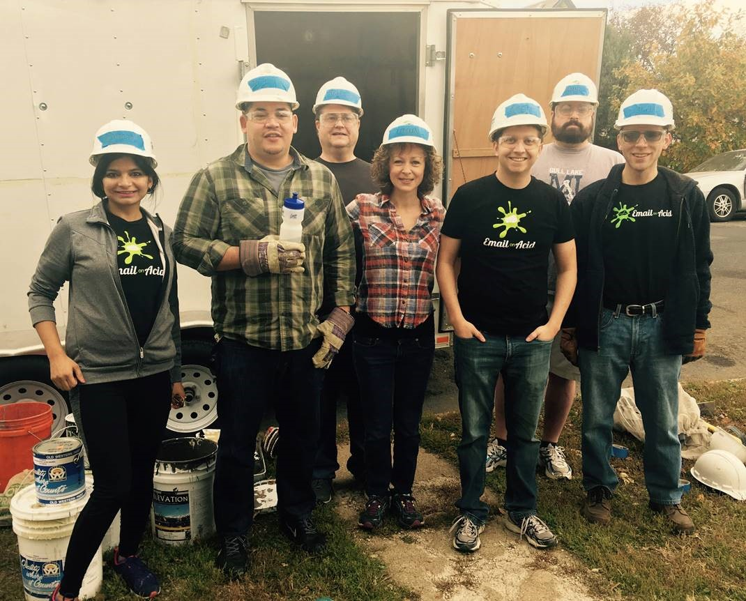 Email on acid team at Habitat for Humanity