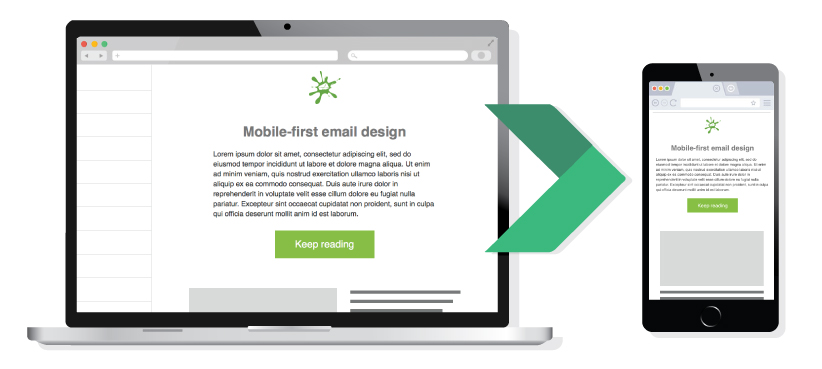 Mobile Friendly Email Example