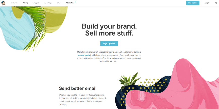 MailChimp Interface Example