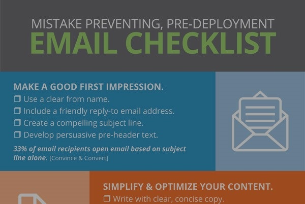 email checklist sneak peek