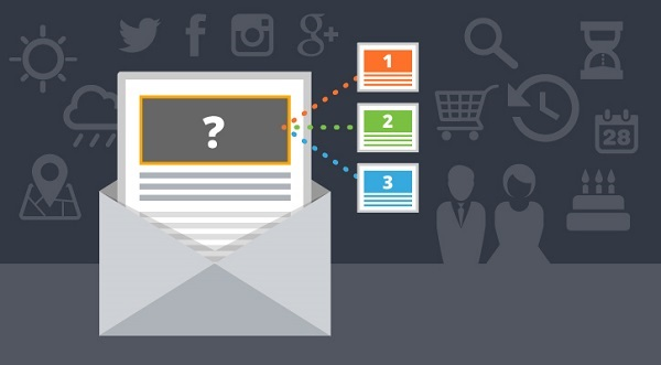 Dynamic content in email