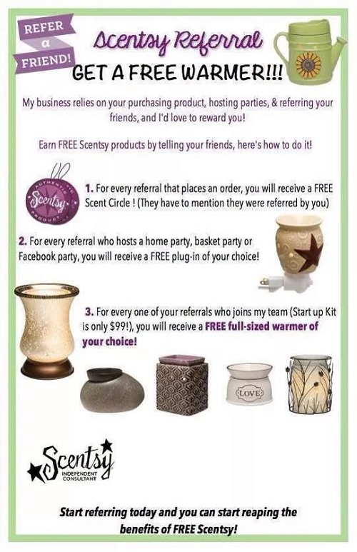 scentsy referral