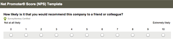 Create an email referral campaign that converts email on for Net promoter score survey template