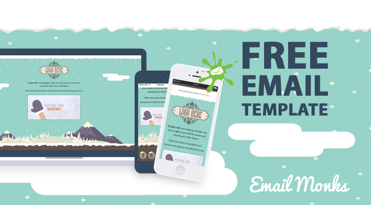 Responsive, Animated Email Template From Email Monks