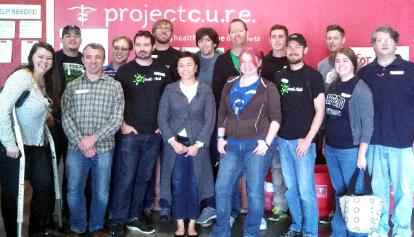 Project Cure group picture
