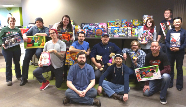 Toys for Tots group picture