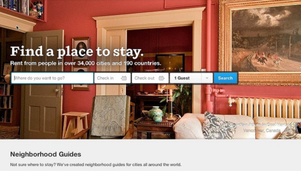 AirBnb headline example