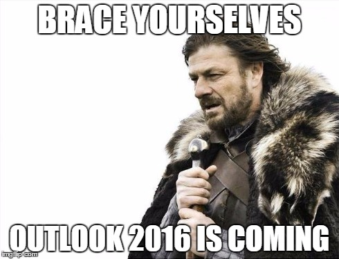 outlook 2016 meme