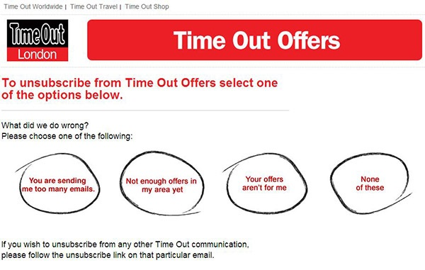 Timeout receiving feedback from subscribers