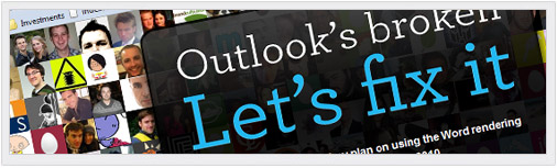 Fix Outlook Campaign